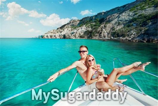 Sugardaddy Date auf einer Luxusyacht
