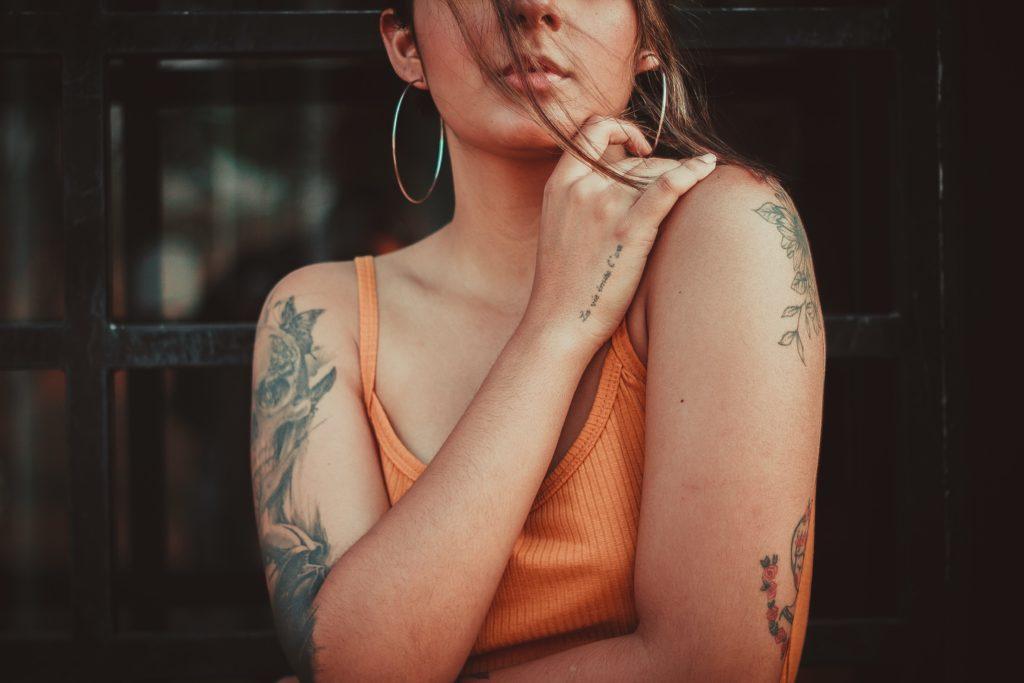 Tattoo auf den Armen