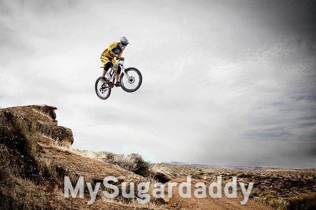 Lebe dein Leben: Downhill Biking